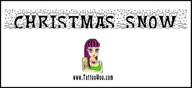 font-chu-christmas-snow