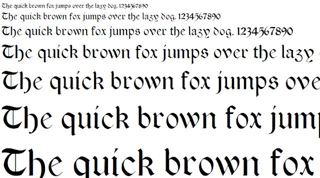font độc đáo