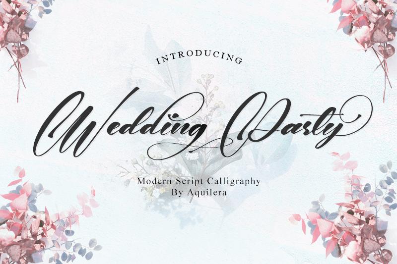 font-wedding-beauty