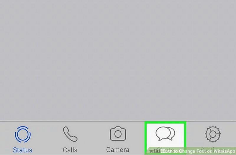 8 bước thay đổi Font Chữ trên WhatsApp